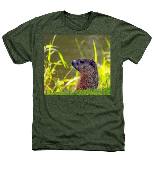 Chucky Woodchuck Heathers T-Shirt by Paul Ward