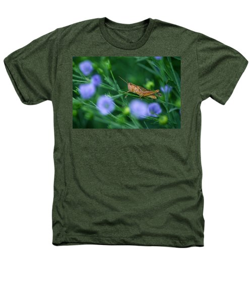 Grasshopper Heathers T-Shirt by Mike Grandmailson