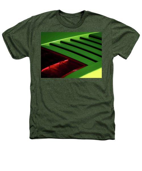 Lime Light Heathers T-Shirt by Douglas Pittman