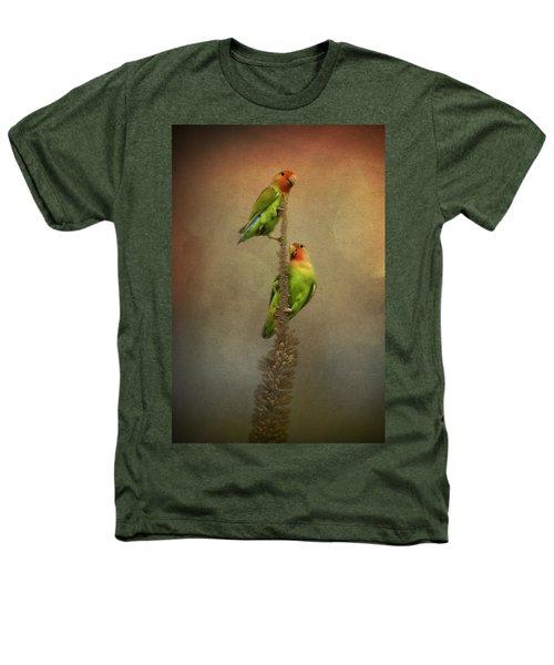 Up And Away We Go Heathers T-Shirt by Saija  Lehtonen