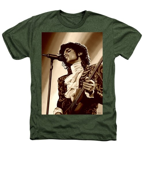 Prince The Artist Heathers T-Shirt by Paul Meijering