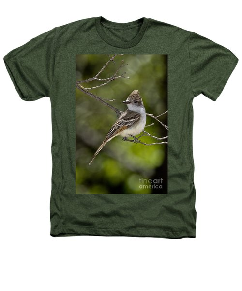 Ash-throated Flycatcher Heathers T-Shirt by Anthony Mercieca