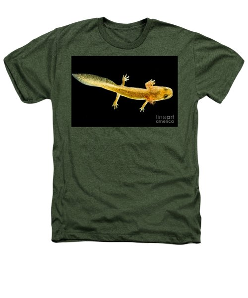 California Giant Salamander Larva Heathers T-Shirt by Dant� Fenolio