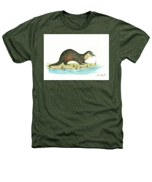 Otter Heathers T-Shirt by Juan Bosco
