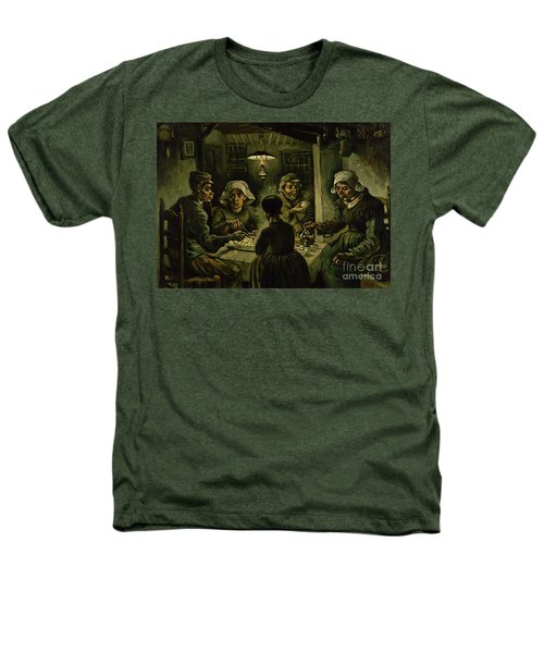 The Potato Eaters, 1885 Heathers T-Shirt by Vincent Van Gogh