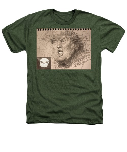 Trump Heathers T-Shirt by Ylli Haruni