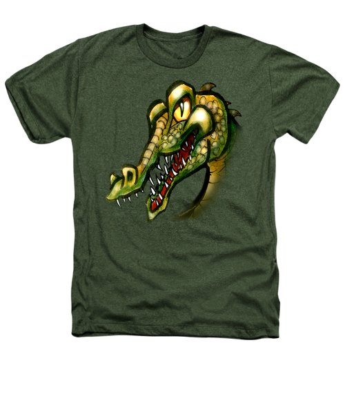 Crocodile Heathers T-Shirt by Kevin Middleton
