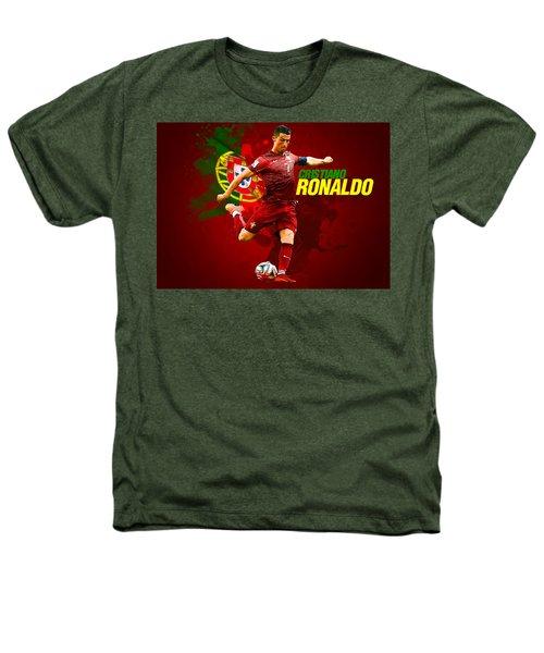 Cristiano Ronaldo Heathers T-Shirt by Semih Yurdabak