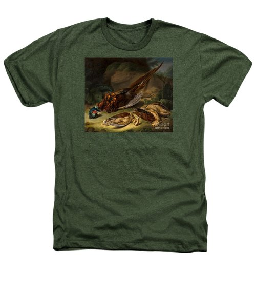 A Dead Pheasant Heathers T-Shirt by Stephen Elmer