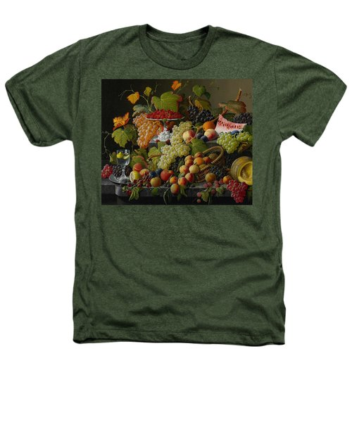 Abundant Fruit Heathers T-Shirt by Severin Roesen