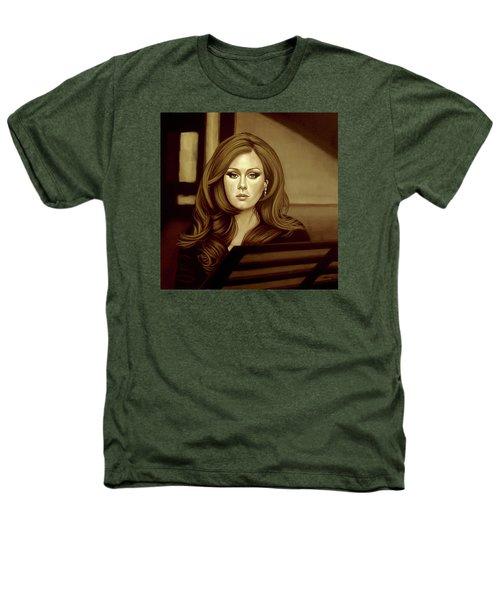 Adele Gold Heathers T-Shirt by Paul Meijering