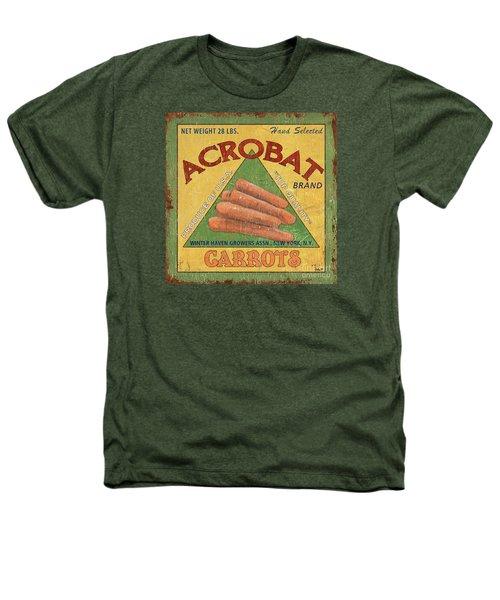 Americana Vegetables 2 Heathers T-Shirt by Debbie DeWitt