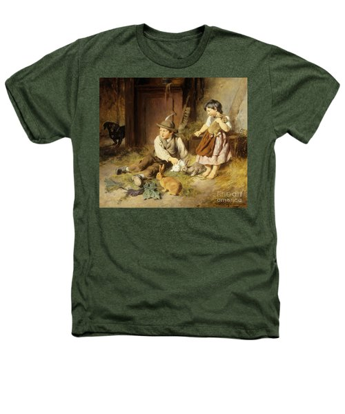 An Unwelcome Visitor Heathers T-Shirt by Felix Schlesinger