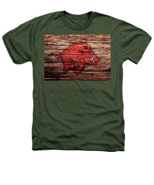Arkansas Razorbacks 1a Heathers T-Shirt by Brian Reaves