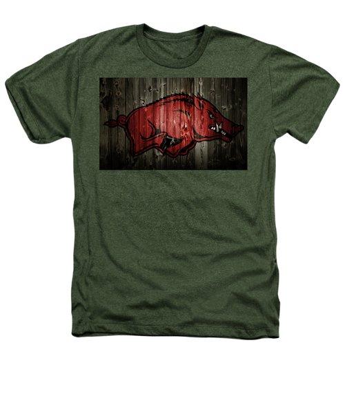 Arkansas Razorbacks 2b Heathers T-Shirt by Brian Reaves