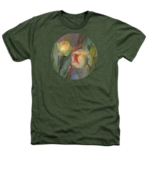 Evening Bloom Heathers T-Shirt by Mary Wolf
