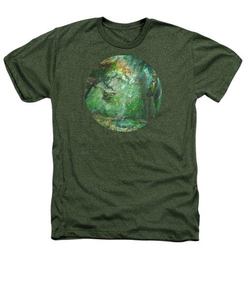 Rainy Woods Heathers T-Shirt by Mary Wolf
