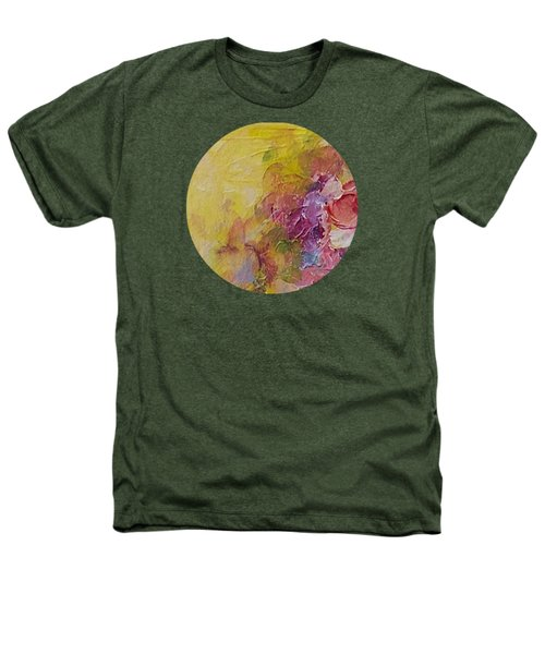 Floral Still Life Heathers T-Shirt by Mary Wolf