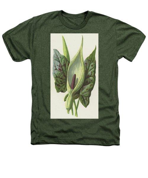 Arum, Cuckoo Pint Heathers T-Shirt by Frederick Edward Hulme