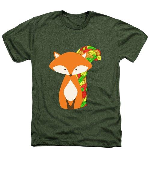 Autumn Fox Heathers T-Shirt by Brigitte Carre