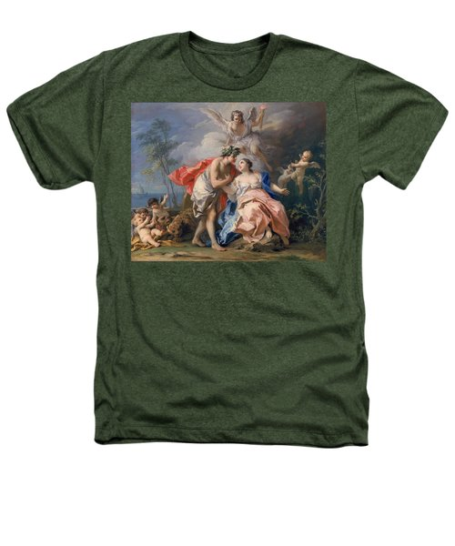 Bacchus And Ariadne Heathers T-Shirt by Jacopo Amigoni