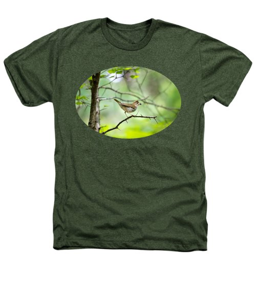 Beauty Of The Spring Forest Heathers T-Shirt by Christina Rollo