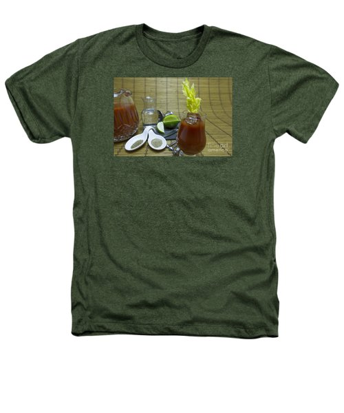 Bloody Mary Cocktail With Ingredients Heathers T-Shirt by Karen Foley