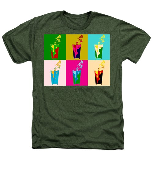 Bloody Mary Pop Art Panels Heathers T-Shirt by Dan Sproul