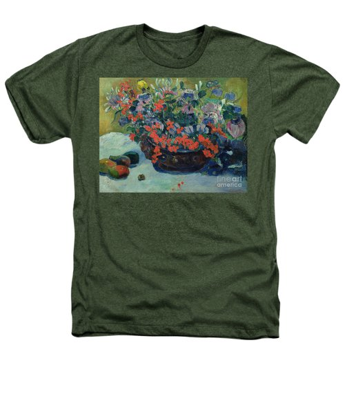 Bouquet Of Flowers Heathers T-Shirt by Paul Gauguin