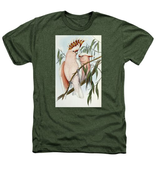 Cacatua Leadbeateri Heathers T-Shirt by John Gould
