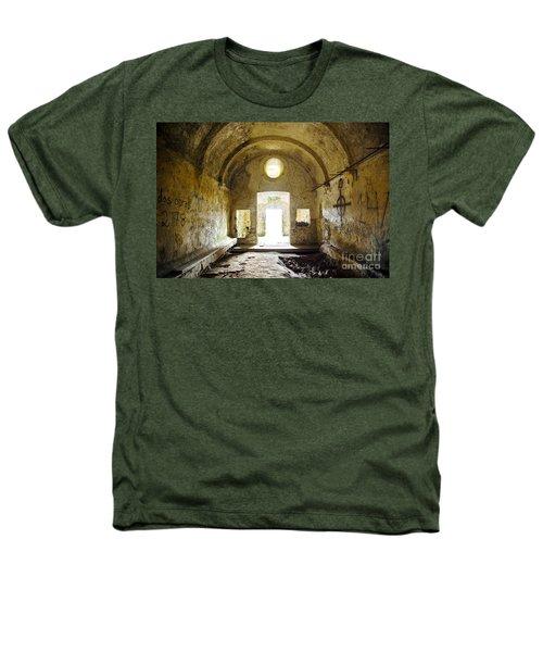 Church Ruin Heathers T-Shirt by Carlos Caetano