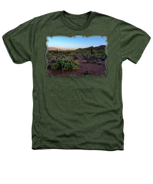 Desert Foothills H29 Heathers T-Shirt by Mark Myhaver