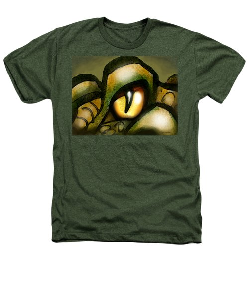 Dragon Eye Heathers T-Shirt by Kevin Middleton