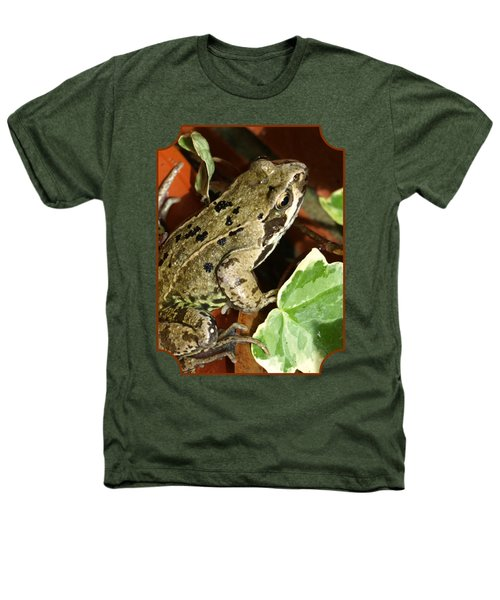 En Route To The Pond Heathers T-Shirt by Gill Billington