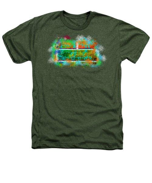 Forgive Brick Orange Tshirt Heathers T-Shirt by Tamara Kulish