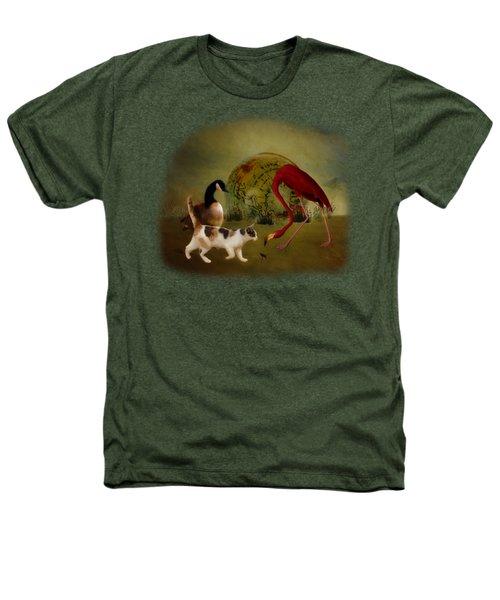 Global Initiative Heathers T-Shirt by Terry Fleckney