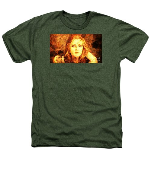 Golden Adele Heathers T-Shirt by Pablo Franchi
