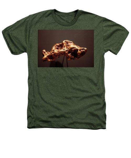 Golden Nugget Heathers T-Shirt by LeeAnn McLaneGoetz McLaneGoetzStudioLLCcom