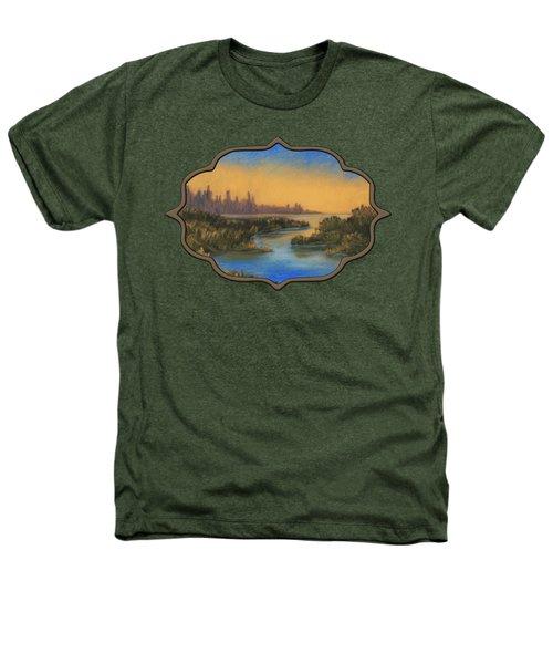In The Distance Heathers T-Shirt by Anastasiya Malakhova