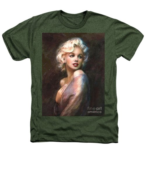 Marilyn Romantic Ww 1 Heathers T-Shirt by Theo Danella
