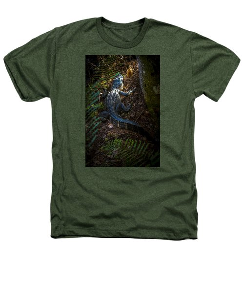 Mr Alley Gator Heathers T-Shirt by Marvin Spates