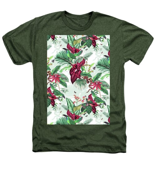 Nicaragua Heathers T-Shirt by Jacqueline Colley