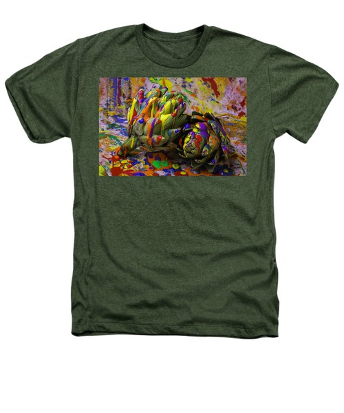 Painted Artichokes Heathers T-Shirt by Garry Gay