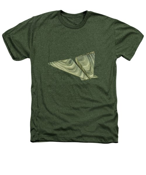Paper Airplanes Of Wood 19 Heathers T-Shirt by YoPedro