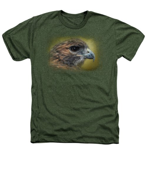 Red Tailed Hawk At Reelfoot Heathers T-Shirt by Jai Johnson
