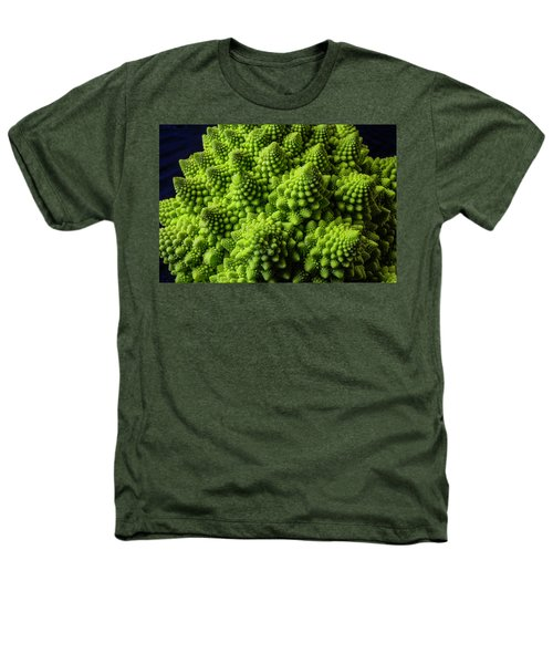 Romanesco Broccoli Heathers T-Shirt by Garry Gay