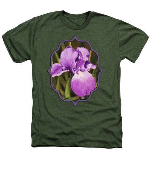 Single Iris Heathers T-Shirt by Anastasiya Malakhova