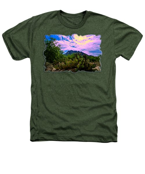 Sonoran Morning H54 Heathers T-Shirt by Mark Myhaver