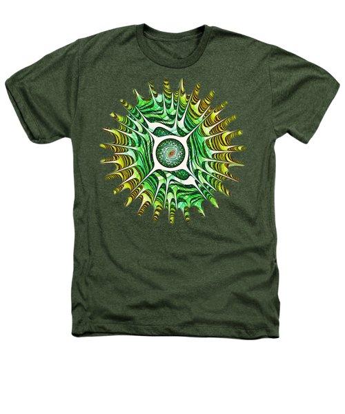 Spring Dragon Eye Heathers T-Shirt by Anastasiya Malakhova