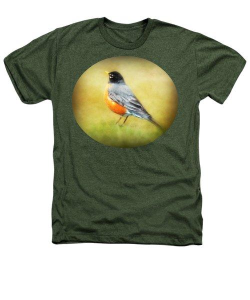 Spring Robin Heathers T-Shirt by Anita Faye